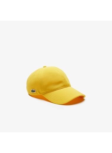 Lacoste Şapka Sarı